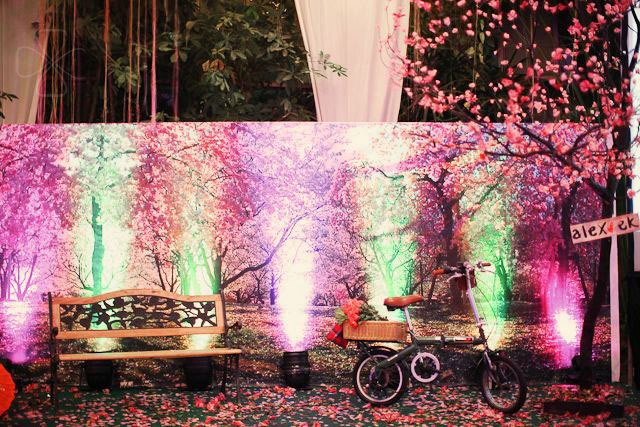 Love Under the Cherry Blossom Tree: Alex and Ek Event Styling