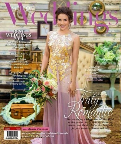 Metro Wedding October Cover Issue Featuring Karylle