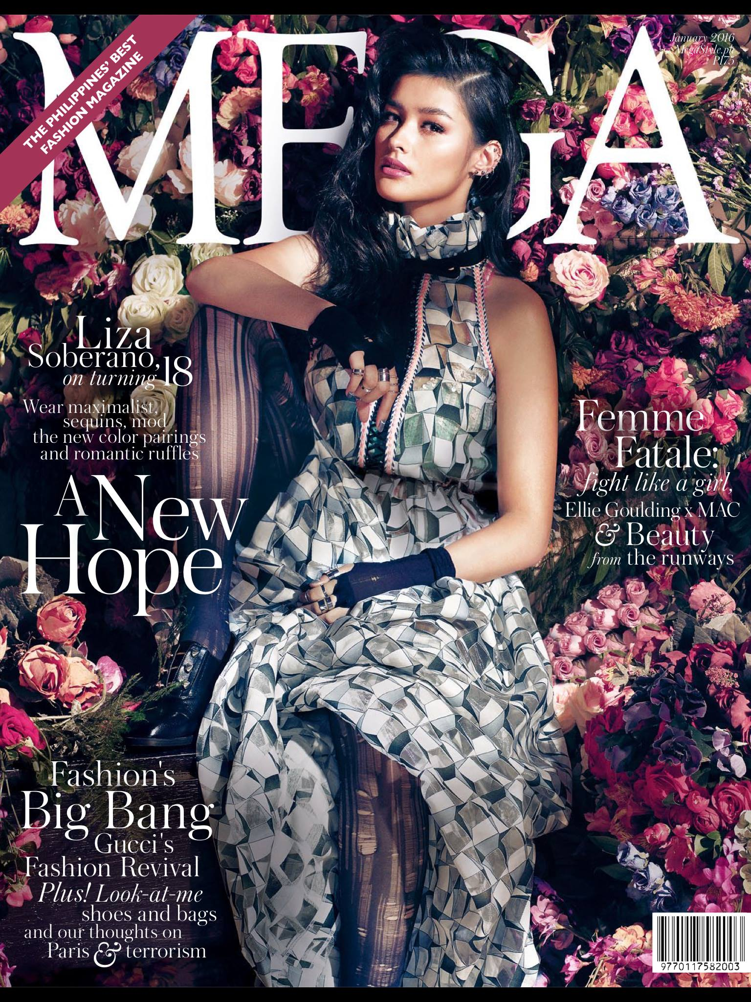 Liza Soberano: Mega Magazine January Cover