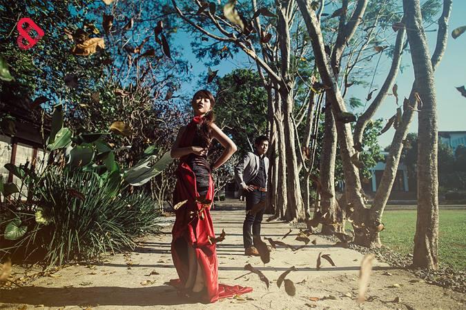 Oriental Luxe: Kelly & Michelle