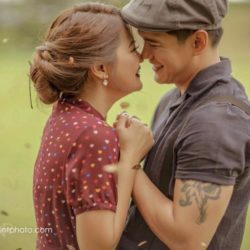VINTAGE   Joselle and Luis Celebrity Engagement