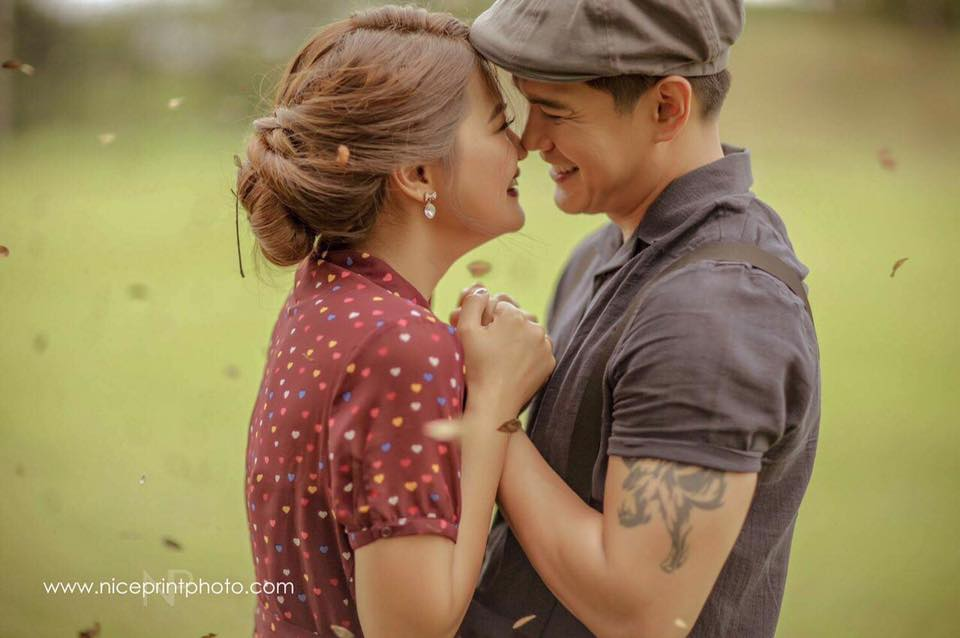 VINTAGE | Joselle and Luis Celebrity Engagement