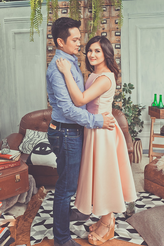 LOVE AND LOVED: Camille and CJ Celebrity Engagement